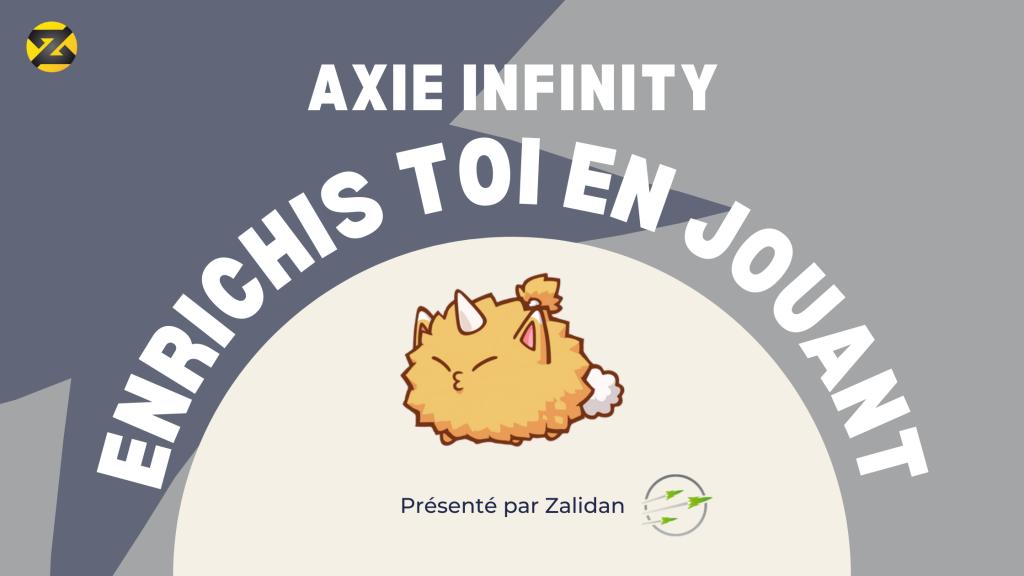 Axie Infinity Gagne de l'argent en jouant