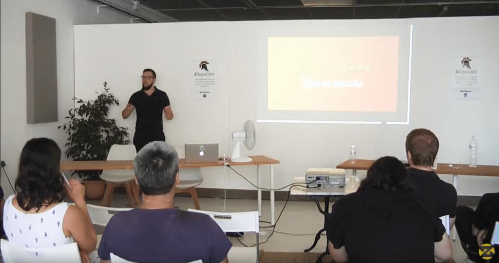 Conférence Zalidan Affiliate Marketing