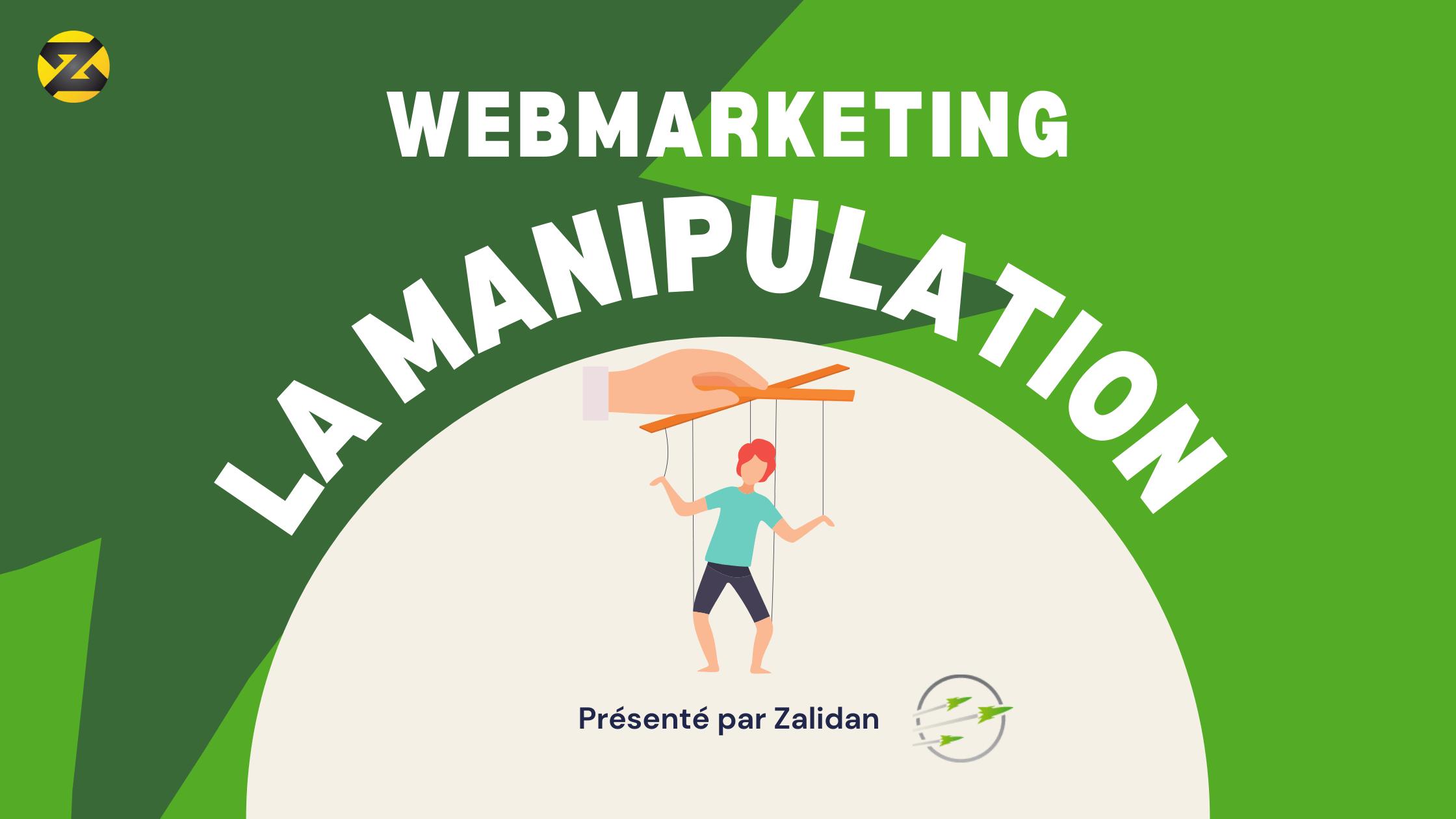 La manipulation en web marketing